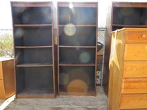 "3- 6' tall by 30"" Book Shelves in Yucca Valley, California"