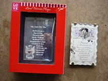 LOVE MIRROR PLAQUE & FRIENDS POEM PLAQUE in St. Charles, Illinois