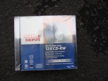 NEW 10 PACK SLIM CASE CD-RW DISCS in Bartlett, Illinois