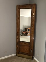 Cool Vintage Door with Mirror Insert- One of a kind in Chicago, Illinois