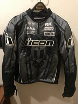 ICON Men's Motorcycle Textile Jacket in Travis AFB, California