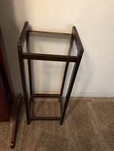 PRICE REDUCED! Accent table with glass shelf in Beaufort, South Carolina