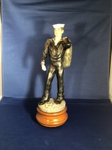 """American Heroes US Navy figure / musical (10"""" tall) in Bartlett, Illinois"""