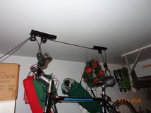 Bicycle lift pulley in Naperville, Illinois