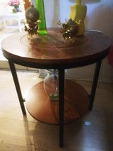 CENTRAL TABLE. SIDE TABLE. 2 TIERS WOOD TABLE. in Nellis AFB, Nevada