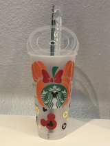 Minnie Fall Harvest Starbucks Venti Cold Cup New in Travis AFB, California