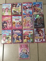 Strawberry Shortcake and Barbie DVD Lot in Travis AFB, California