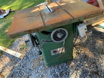 "12"" grizzly table saw in Clarksville, Tennessee"
