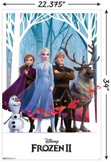 "NEW Disney Frozen 2 GROUP Wall Poster, 22.375"" x 34"" in Morris, Illinois"