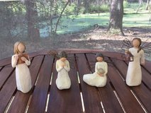 Willow Angels - Set of 4 -Like New Condition in Beaufort, South Carolina