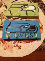 Wood Key Racks Seahawks , Chevy and Fish in Fort Lewis, Washington