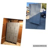 Metal Locker w/6 Compartments in Travis AFB, California