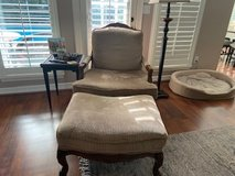 Beautiful Accent Chair and Ottoman in The Woodlands, Texas