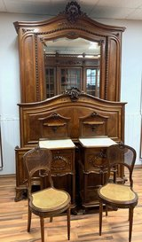 French Bedroom Set - Louis XV Style in Spangdahlem, Germany