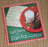 Letters To Santa from Kids Hard Cover Book in Yorkville, Illinois