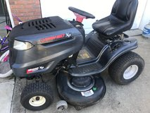 Riding mower in Clarksville, Tennessee
