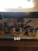 NEW Stainless Steel Cookwear Set in Yucca Valley, California
