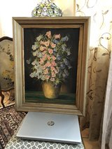 Antique Oil Painting in Ramstein, Germany