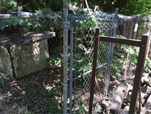 FREE chain link outdoor fence in Joliet, Illinois