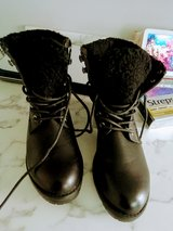 black boots size 3  new in Lakenheath, UK