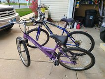 Bike . Both in ok condition in Chicago, Illinois