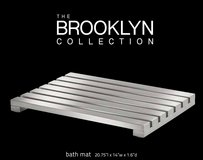 New! Conair Home ~ The Brooklyn Collection Stainless Steel Bath Mat in Orland Park, Illinois