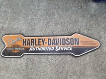 Harley Wood sign in Travis AFB, California
