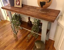 Rustic foyer / console table - $150 or best offer - FREE DELIVERY in Moody AFB, Georgia