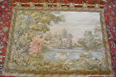 Gobelin Tapestry picture tapestry carpet Wall hanging 135x112cm in Ramstein, Germany