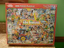 BRAND NEW WHITE MOUNTAIN THE SIXTIES 1000 PC JIGSAW PUZZLE in Bartlett, Illinois