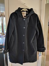 Woman's wool coat in Orland Park, Illinois