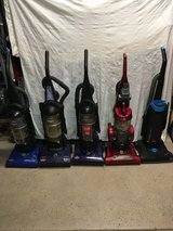 Vacuums in Nellis AFB, Nevada