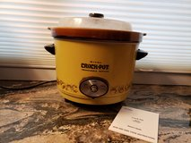 Vintage Rival Crock Pot Slow Cooker Model 3654 5 Quart Removable Crock w/Dome Lid in Naperville, Illinois