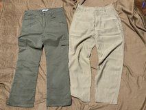 Khaki trousers in Okinawa, Japan