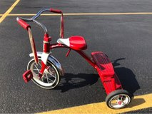 Radio flyer classic red dual deck tricycle in Bartlett, Illinois
