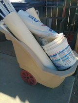 Pvc pipe plus cart also additional full sticks..fittings in Yucca Valley, California