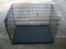 LARGE METAL FOLD-UP PET CAGE/CRATE STILL AVAILABLE in Warner Robins, Georgia