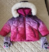 toddler winter coat, fleece lining, 2t in Bartlett, Illinois