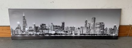 Chicago Skyline Canvas panoramic in Aurora, Illinois