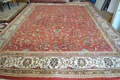 Old hand-knotted oriental Carpet Rug in Ramstein, Germany