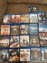Lots of Blu Ray and DVD for sell in Fort Polk, Louisiana