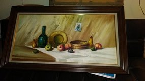 Oil painting in Plainfield, Illinois