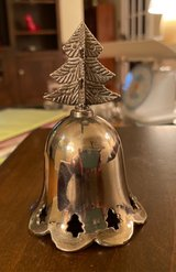 Vintage Silverplated Tree Bell in St. Charles, Illinois
