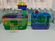 Kaytee Crittertrail hamster cages Lot 2 in Yorkville, Illinois