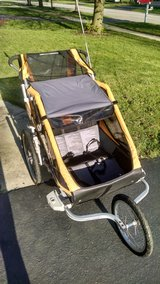 Double Stroller and Bike Trailer in Plainfield, Illinois