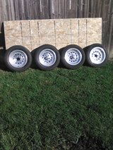 """American racing rims 15"""" w/Uniroyal tires 60'series in Plainfield, Illinois"""