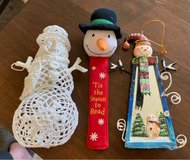 Snowman Items in St. Charles, Illinois