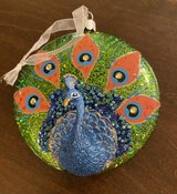 Peacock Ornament in Plainfield, Illinois