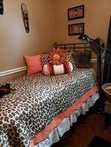Leopard Bedding and Decor in The Woodlands, Texas