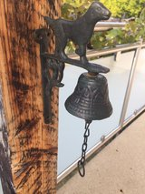 cast iron bell in Ramstein, Germany